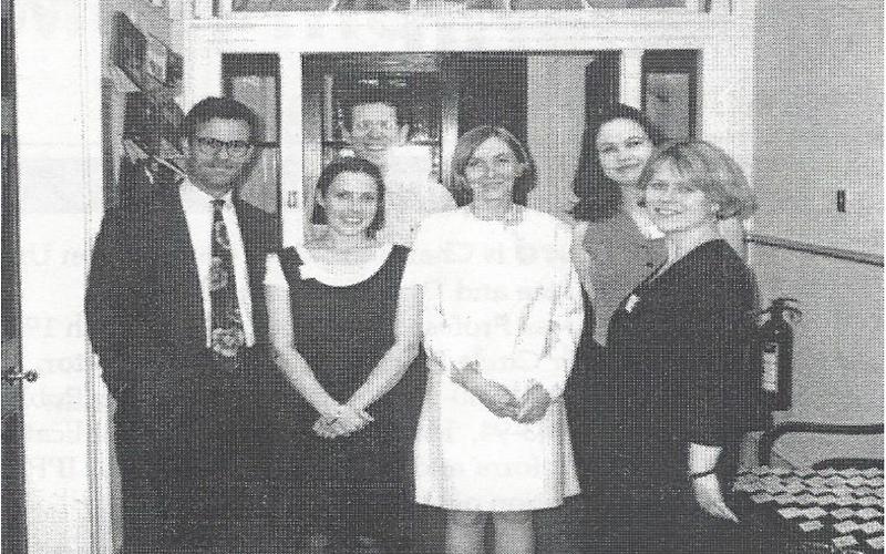 Constitution Unit team in 1995