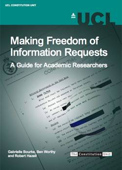 Making Freedom of Information Requests