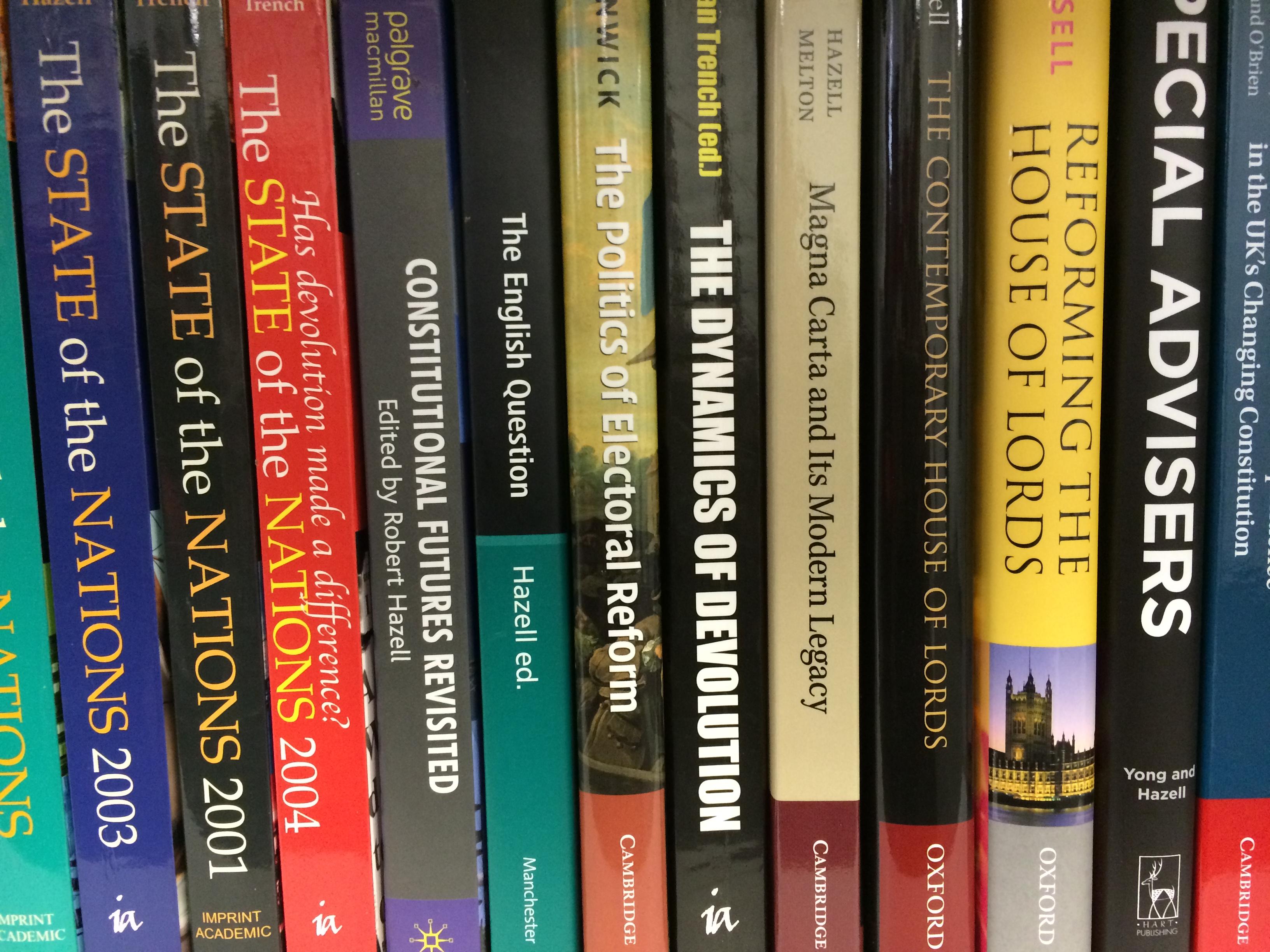 Constitution Unit Books