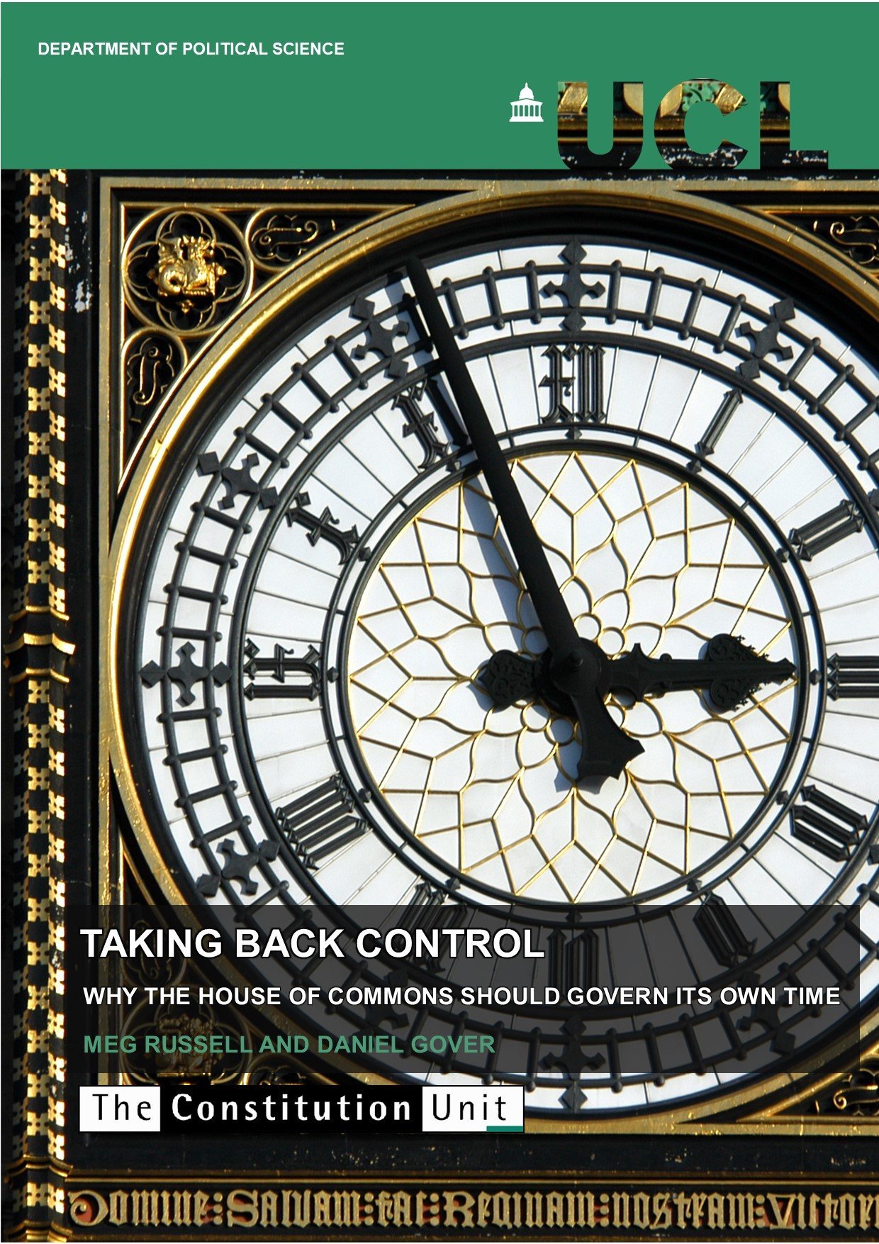 Taking back control front cover