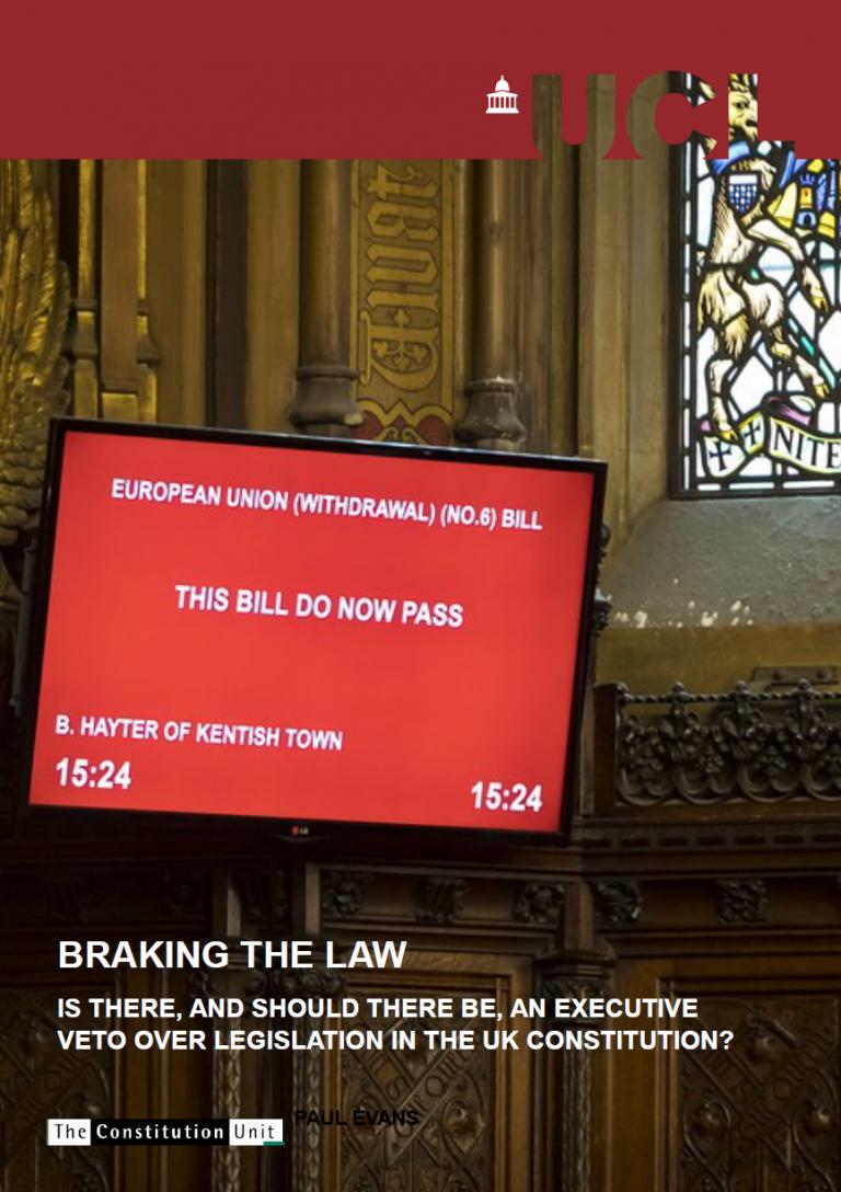 Unit report: Braking the Law