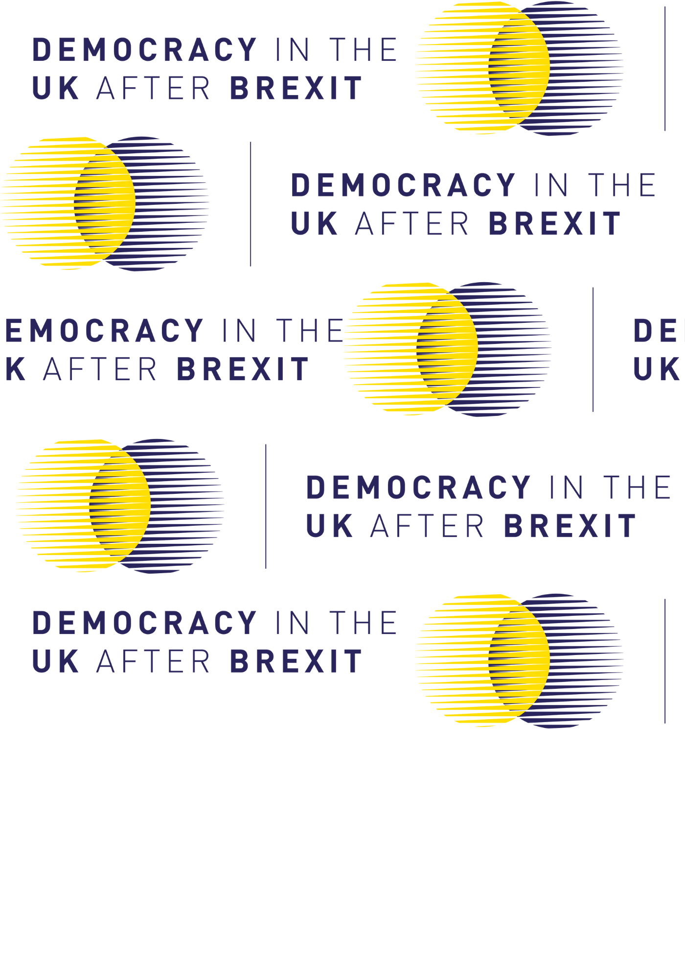 Democracy in the UK after Brexit logo