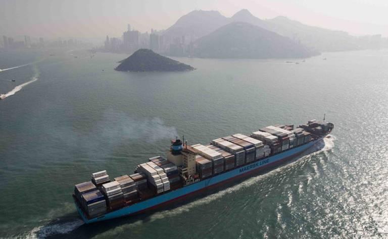 Hong Kong shipping image