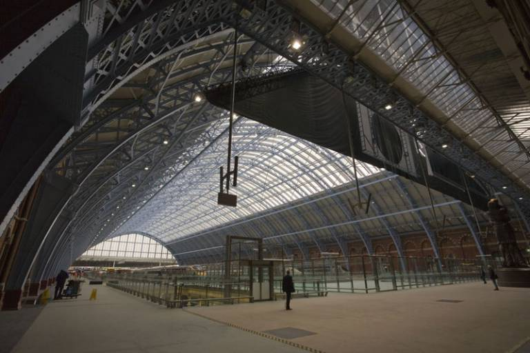 photo of St Pancras station in 2012