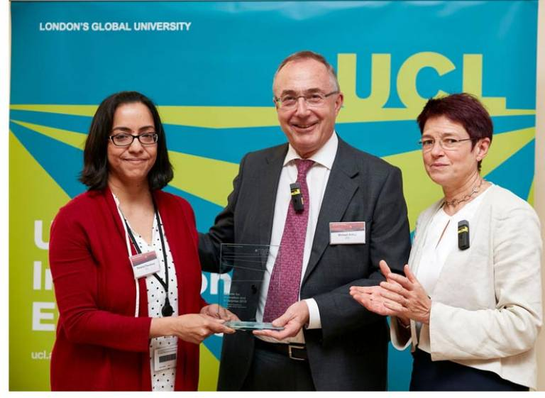 Consultant of the Year winner 2019 Parama Chaudhury