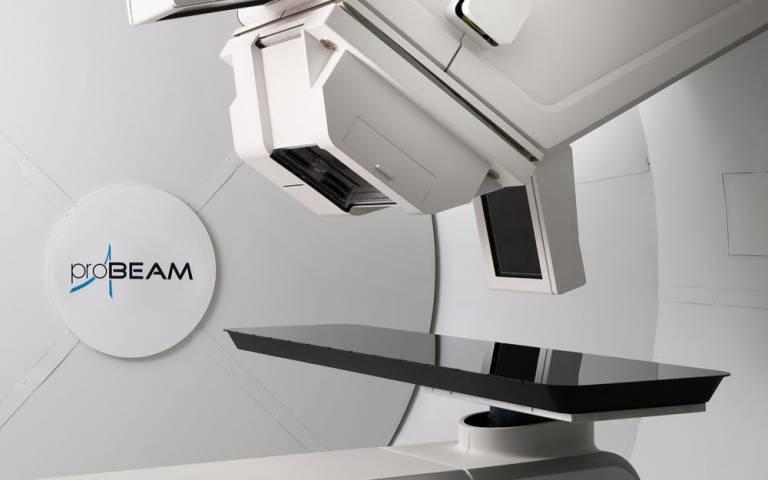 photo of Proton beam therapy equipment