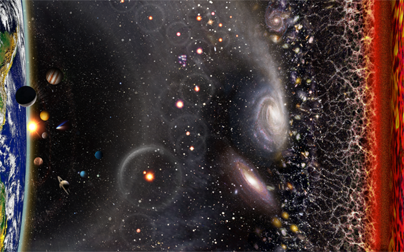 Observable Universe Illustration