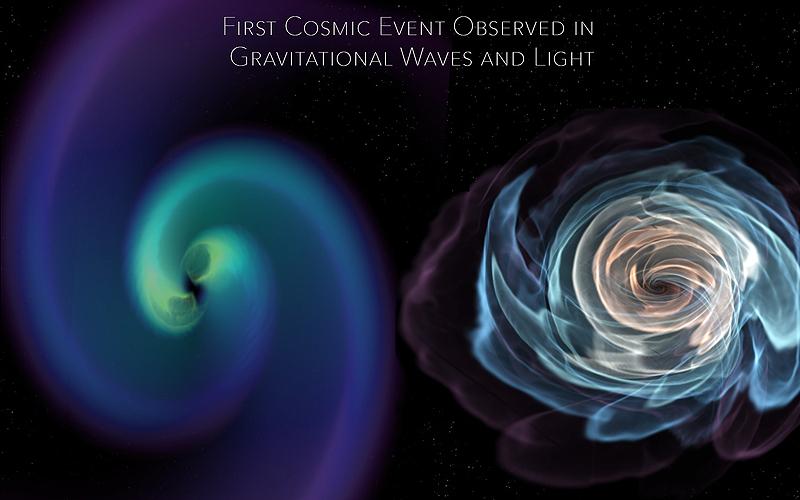 Gravitational Waves versus matter, credit Karan Jani, Georgia Tech