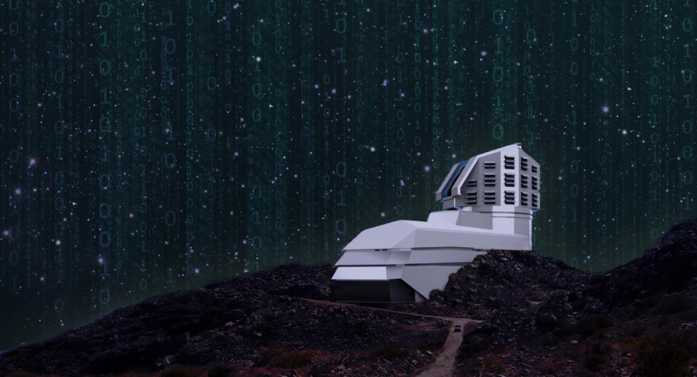 Dome at Night, ©Large Synoptic Survey Telescope…