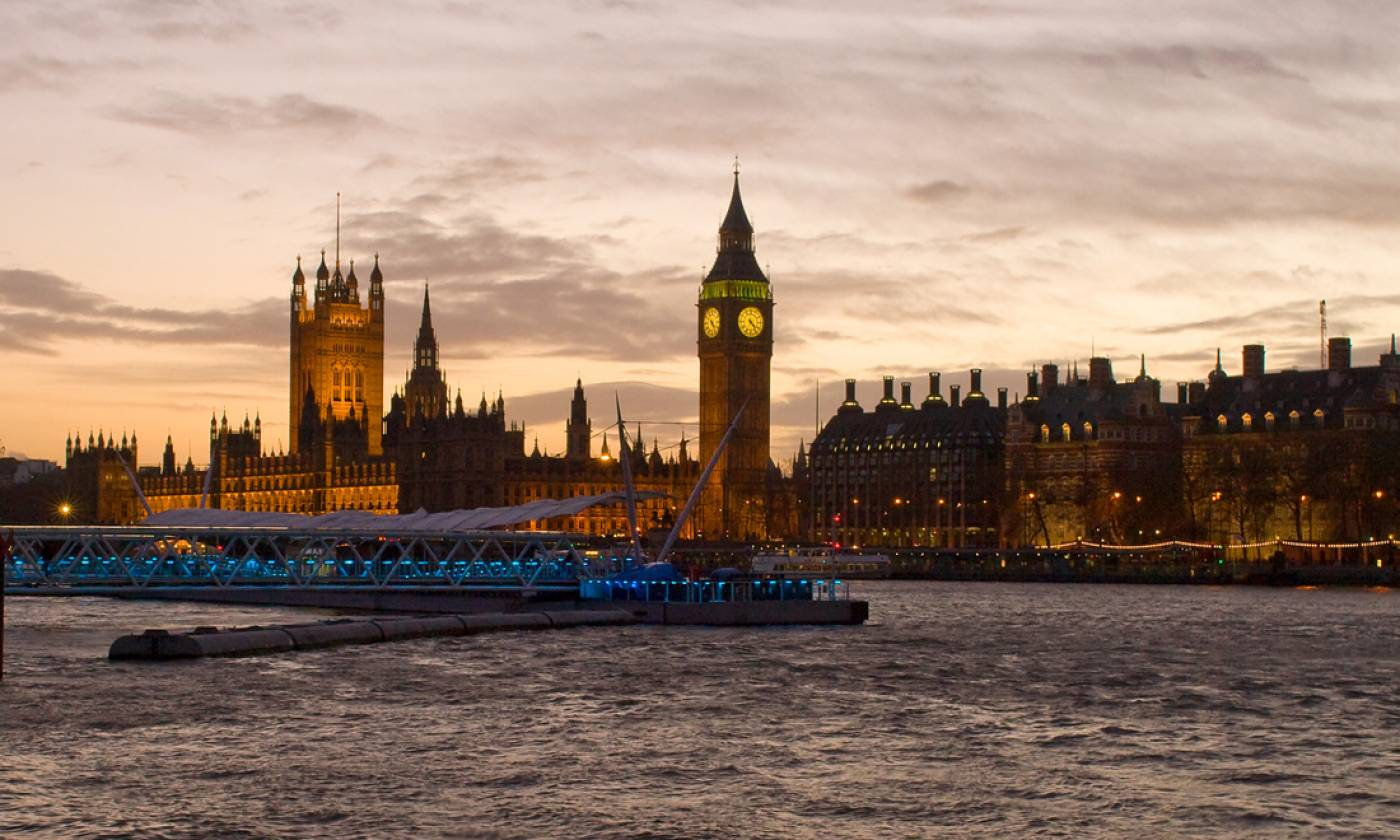 London at dusk, © UCL Media Services - University College London…