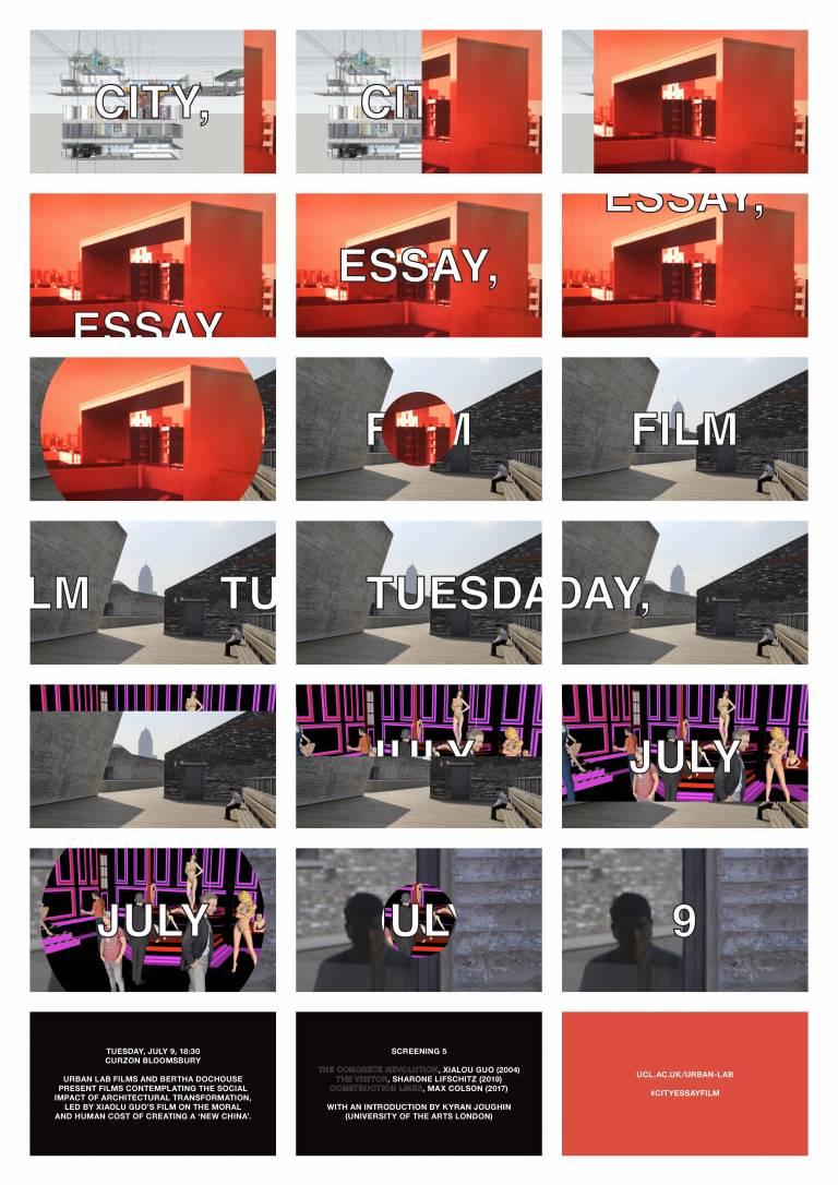 city essay film series