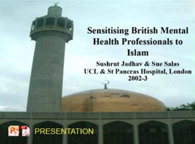 Sensitising British Mental Health Professionals to Islam