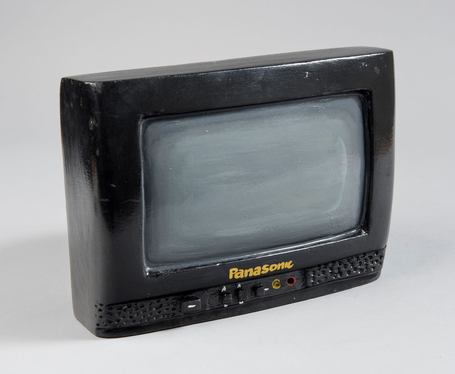 Television model made by Paa Jo