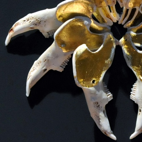 gilded mouse skeletons