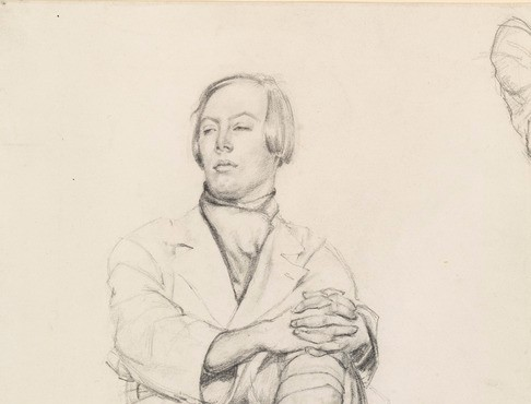 Mabel Greenberg Study of a Young Man 1918