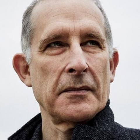 Colour photo of comedian Nick Revell