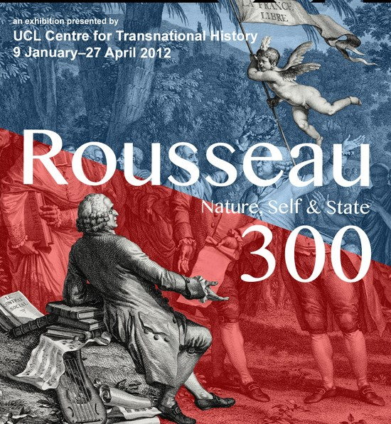 Rousseau 300 exhibition flyer