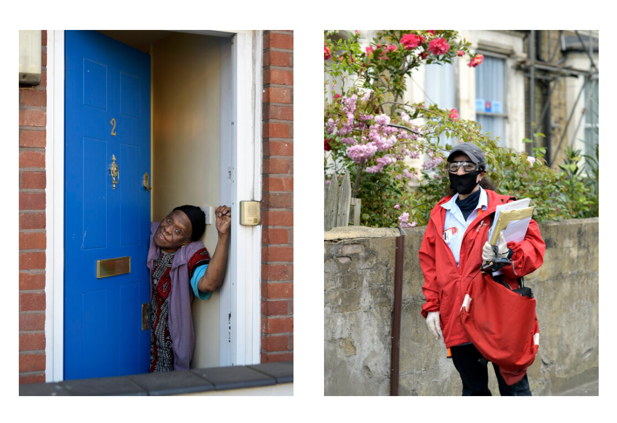 Photos from the journal series 'Evering Road People' by Cristian Sinibaldi