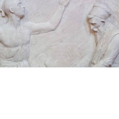 Detail of Flaxman plaster