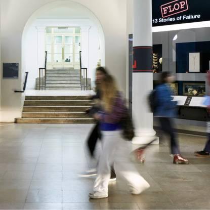 UCL Culture Flop exhibition