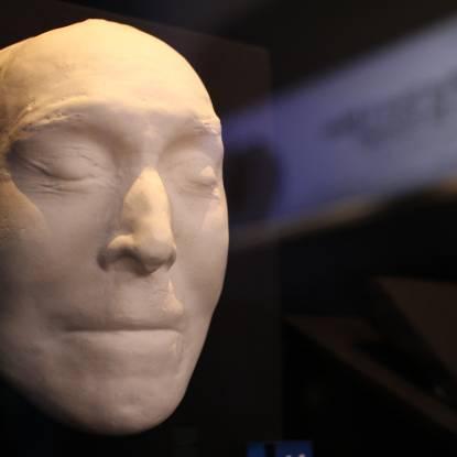 Bentham's death mask