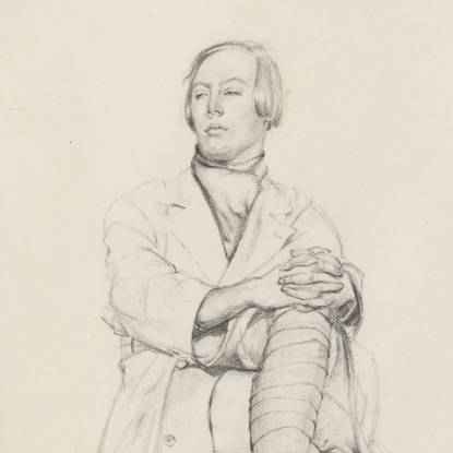 Greenberg, Mabel. Study of a Young Man