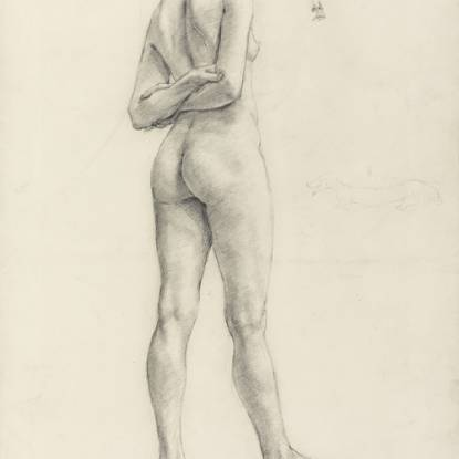 A Study of a Female Figure