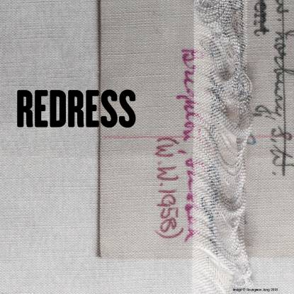 REDRESS UCL Art Museum exhibition