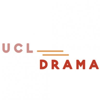 UCL Drama logo on a white background
