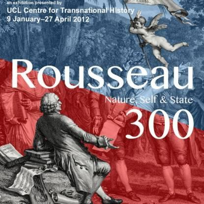 Rousseau 300 exhibition flyer
