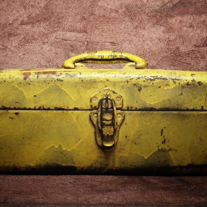 Tool box for toolkit