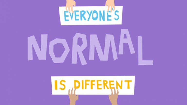 Everyone's normal is different