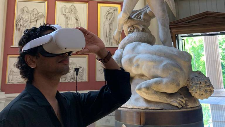 Virtual Reality in museums project image