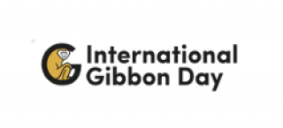 Logo reading 'International Gibbon Day'