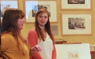 Student engagers in the UCL Art Museum
