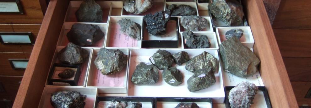 rocks in a drawer