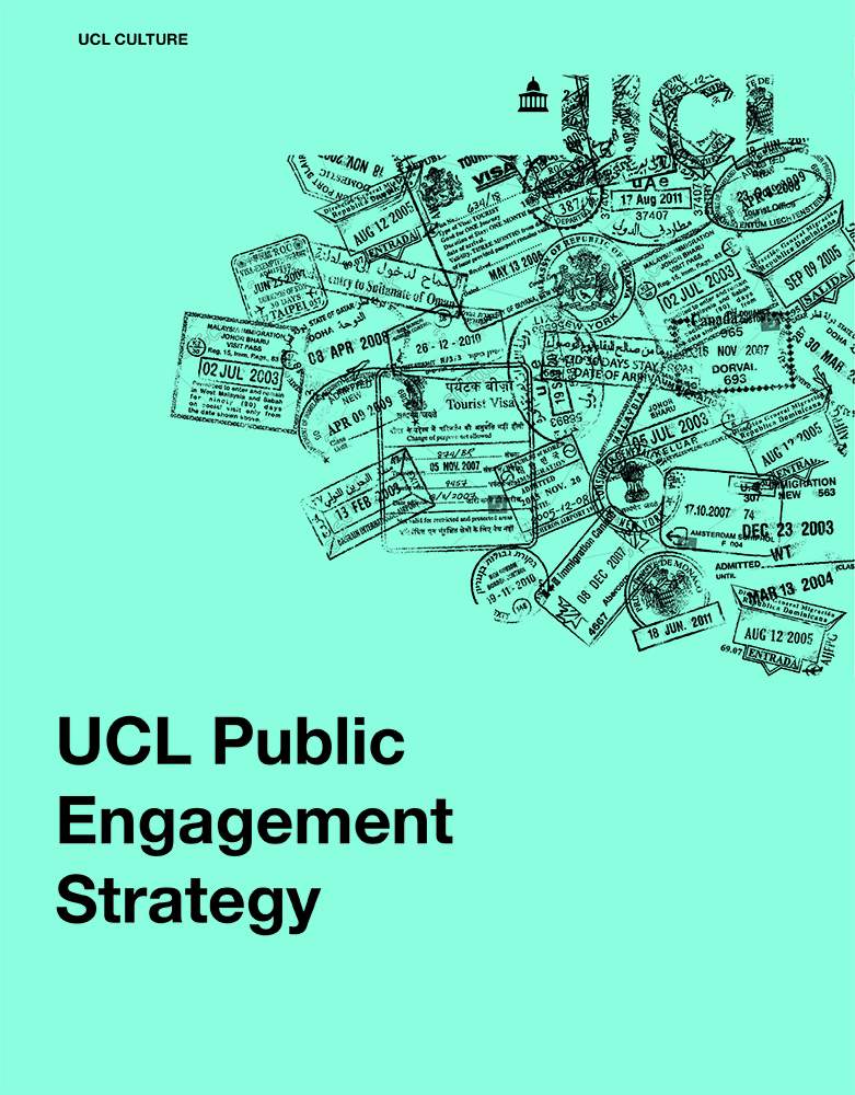 Cover of the Public Engagement strategy document