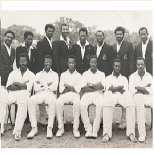 Leyton Cavaliers Cricket Club, a West Indian team based in Walthamstow in the early 1970s.