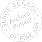 Slade Archive Project