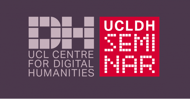 UCLDH seminar logo, purple