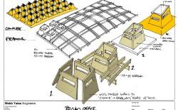 Steve Webb ( WEbb Yates) Belgian Office roof section