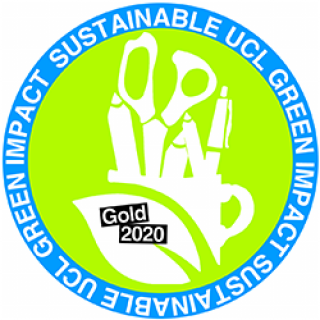 DRC Green Impact Gold Award logo