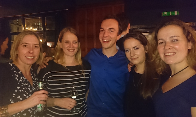 The Jolly Lab at the 2016 Infection and Immunity divisional party