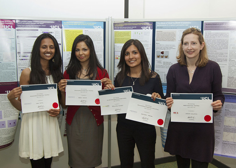 Student prize winners…