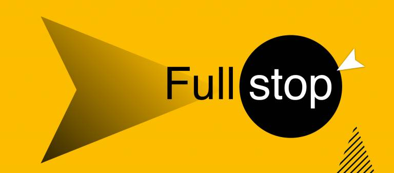 UCL Full Stop campaign logo