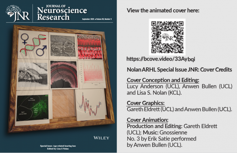Journal of Neuroscience Research Cover