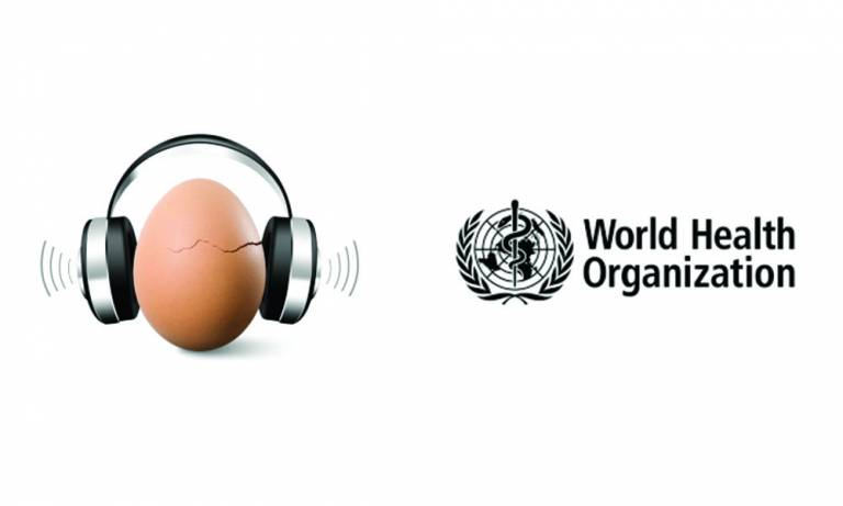 World Hearing Day 2019 and World Health Organisation Logo
