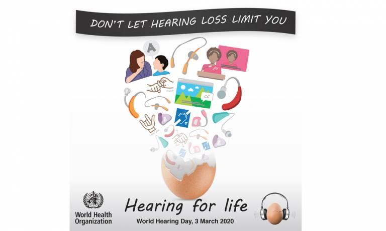 World Hearing Day 2020 logo