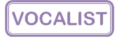 Vocalist logo…