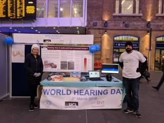World Hearing Day stall